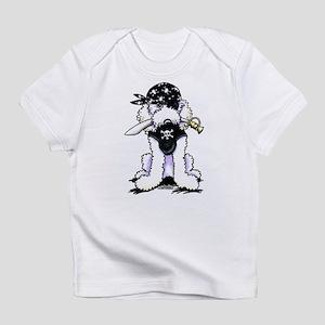 Poodle Pirate Infant T-Shirt