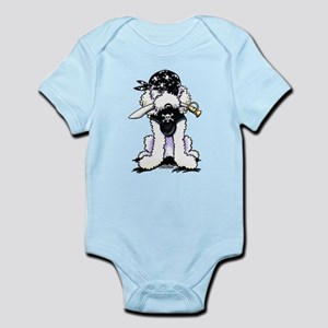 Poodle Pirate Infant Bodysuit
