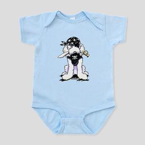 Poodle Pirate Infant Bodysuit