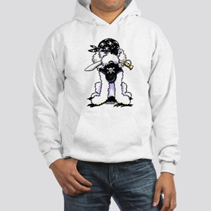 Poodle Pirate Hooded Sweatshirt