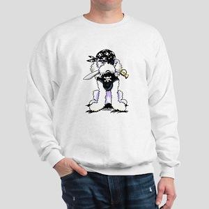 Poodle Pirate Sweatshirt