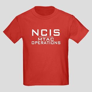 NCIS MTAC Operations Kids Dark T-Shirt
