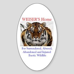 WEISER'S Home Oval Sticker