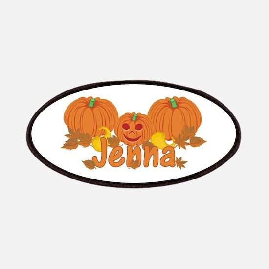 Halloween Pumpkin Jenna Patches