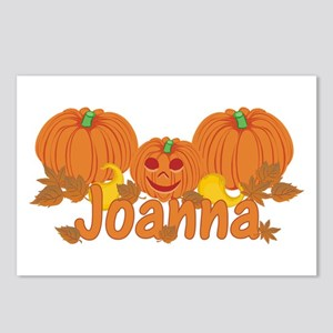 Halloween Pumpkin Joanna Postcards (Package of 8)