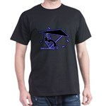 Kokopelli Hang Glider Black T-Shirt