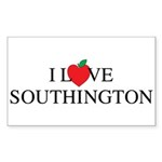 I_Love_Southington Sticker (Rectangle 50 pk)