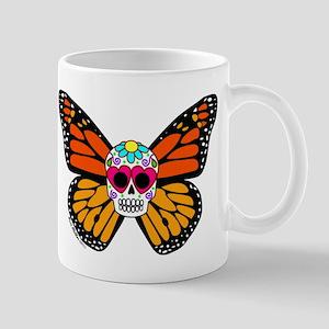 Sugar Skull Butterfly Mug