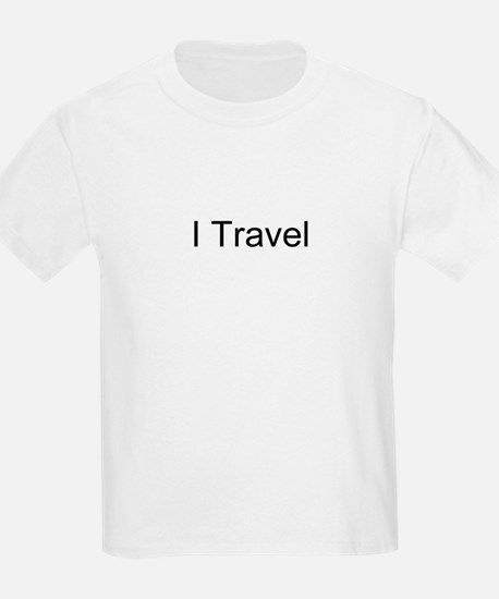 I Travel Kids T-Shirt