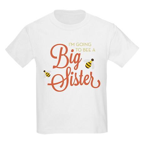 I'm Going to BEE a Big Sister Kids Light T-Shirt