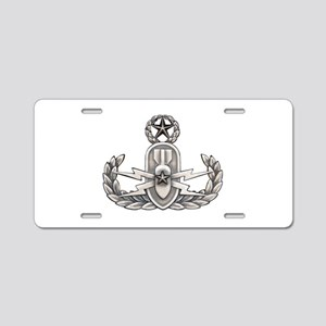 Navy Master EOD Aluminum License Plate