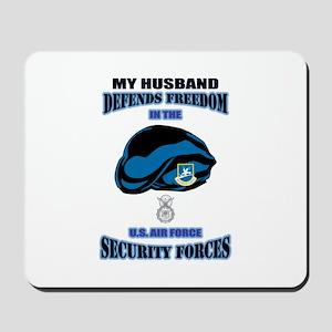 Husband Defends Mousepad