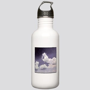 Cloud Etching Clouds are OK Stainless Water Bottle