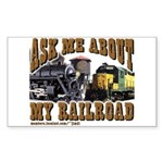 New Ask MeWd Sticker (Rectangle 10 pk)