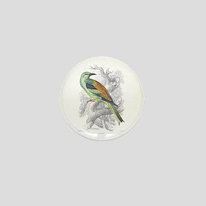 Roller Bird Mini Button