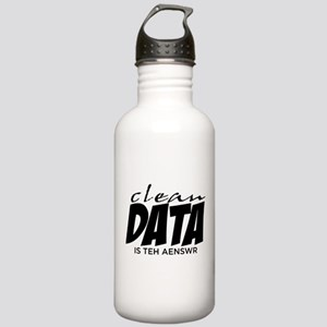 Clean Data is the Answer Stainless Water Bottle 1.