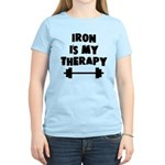 Iron is my therapy Women's Light T-Shirt