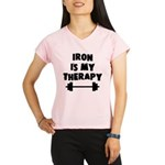 Iron is my therapy Performance Dry T-Shirt