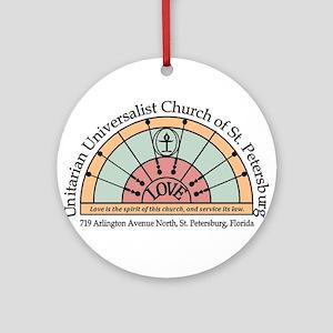UU St Pete Church Logo Ornament (Round)