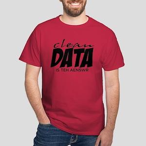 Clean Data is the Answer Dark T-Shirt