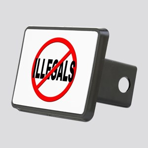 Anti / No Illegals Rectangular Hitch Cover
