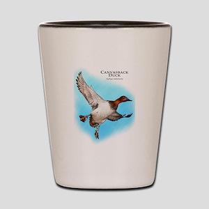 Canvasback Duck Shot Glass