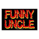 funnyuncle.rect.sticker Sticker (Rectangle 10 pk)
