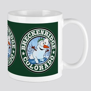 Breckenridge Snowman Circle Mug
