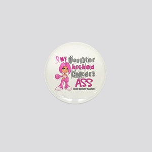 Loved One Kicked Breast Cancer's Ass 42 Mini Butto