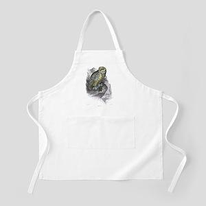Snowy Owl Bird BBQ Apron