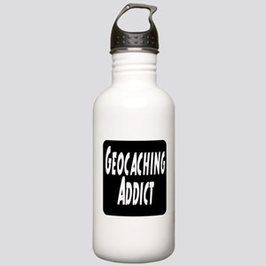 Geocaching addict Stainless Water Bottle 1.0L