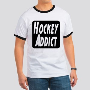 Hockey Addict Ringer T