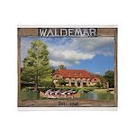 Waldemar Dining Hall Throw Blanket