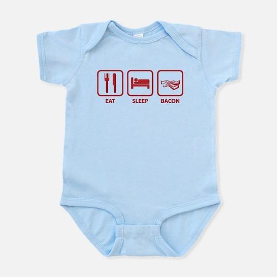 Eat Sleep Bacon Infant Bodysuit