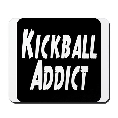 Kickball Addict Mousepad