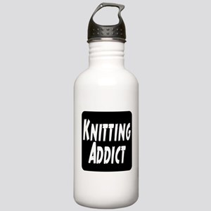 Knitting addict Stainless Water Bottle 1.0L