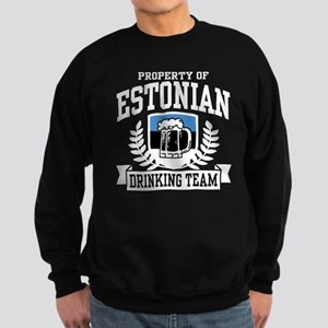 Estonian Drinking Team Sweatshirt (dark)