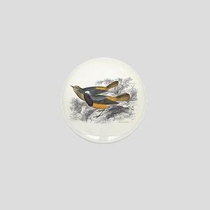 Tithy's Redstart Bird Mini Button