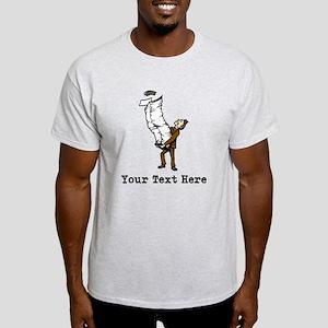 Too Much Office Work. Light T-Shirt