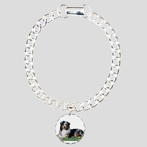 Aussie Laying Charm Bracelet, One Charm