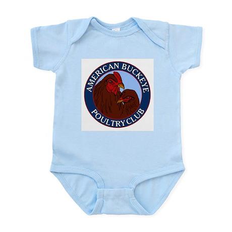 American Buckeye Poultry Club Logo Infant Bodysuit