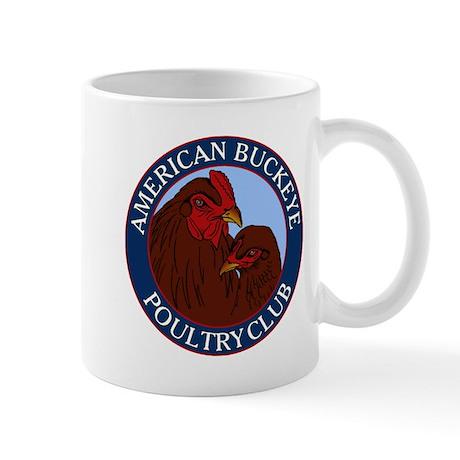 American Buckeye Poultry Club Logo Mug