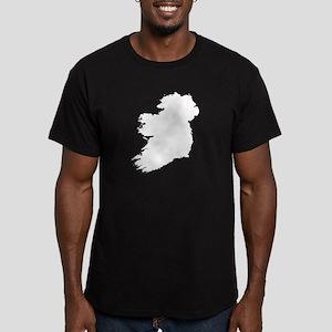 Ireland Men's Fitted T-Shirt (dark)
