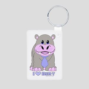 Bert The Hippo NCIS Aluminum Photo Keychain