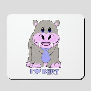 Bert The Hippo NCIS Mousepad