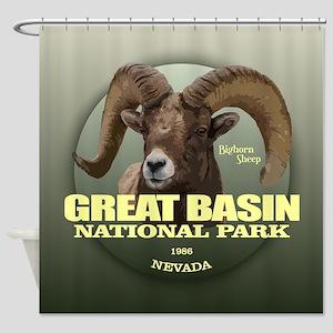 Great Basin NP Shower Curtain