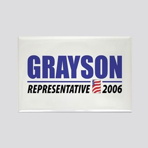 Grayson 2006 Rectangle Magnet