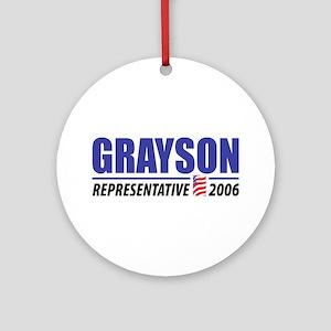 Grayson 2006 Ornament (Round)