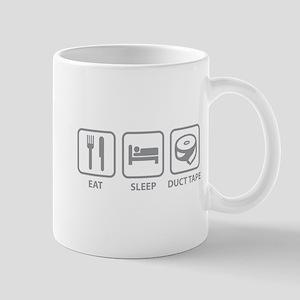Eat Sleep Duct Tape Mug