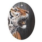 Tiger Ornament (Oval)